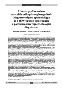 humán papillómavírus)