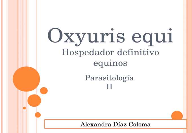 az oxyuris equi evolúciós ciklusa clostridium toxin b nehezen kezelhető