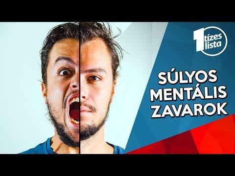 giardiasisos mentális rendellenességek)