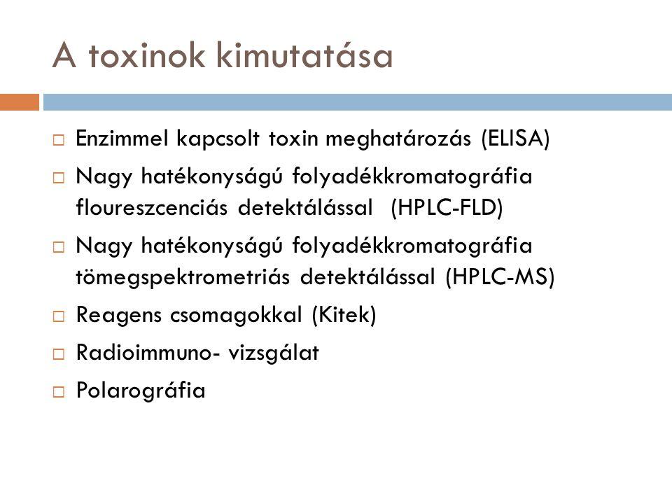 a toxinok meghatározása
