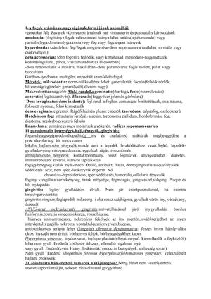 condilom jóindulatú)