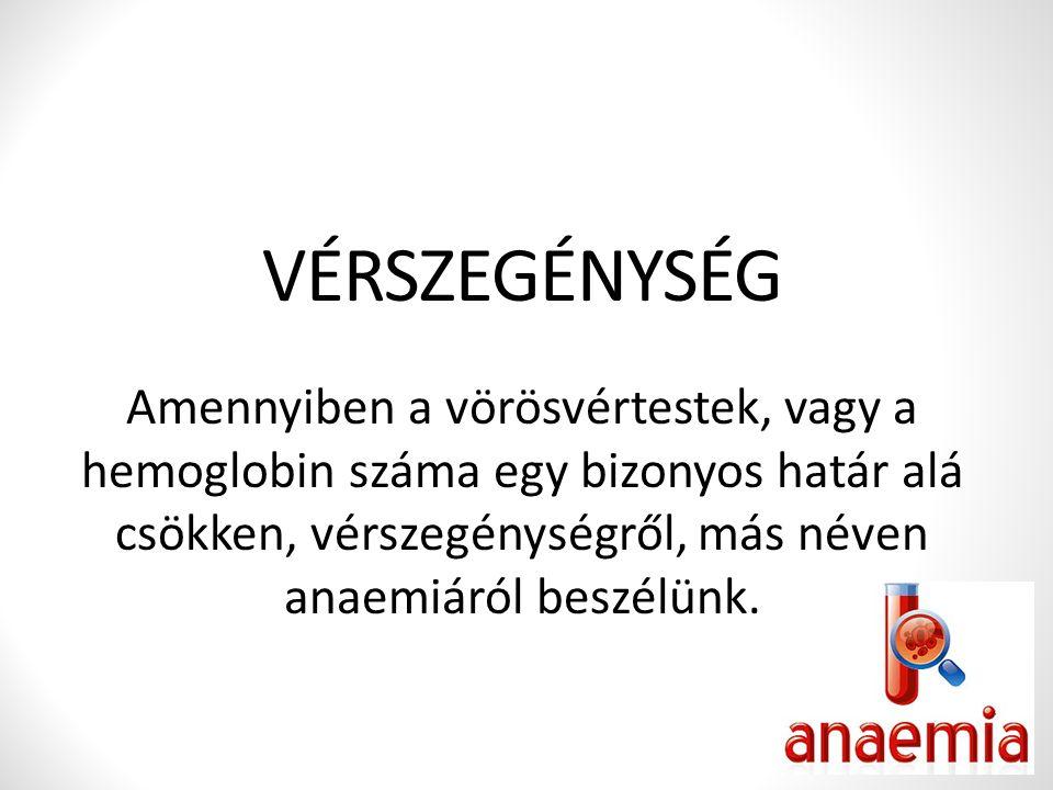 hemoglobin vérszegénység)