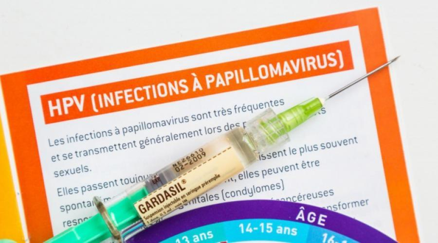 hpv vaccin femme)
