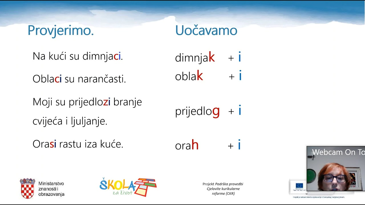 hrvatski jezik 5 razred padezi bemutató)