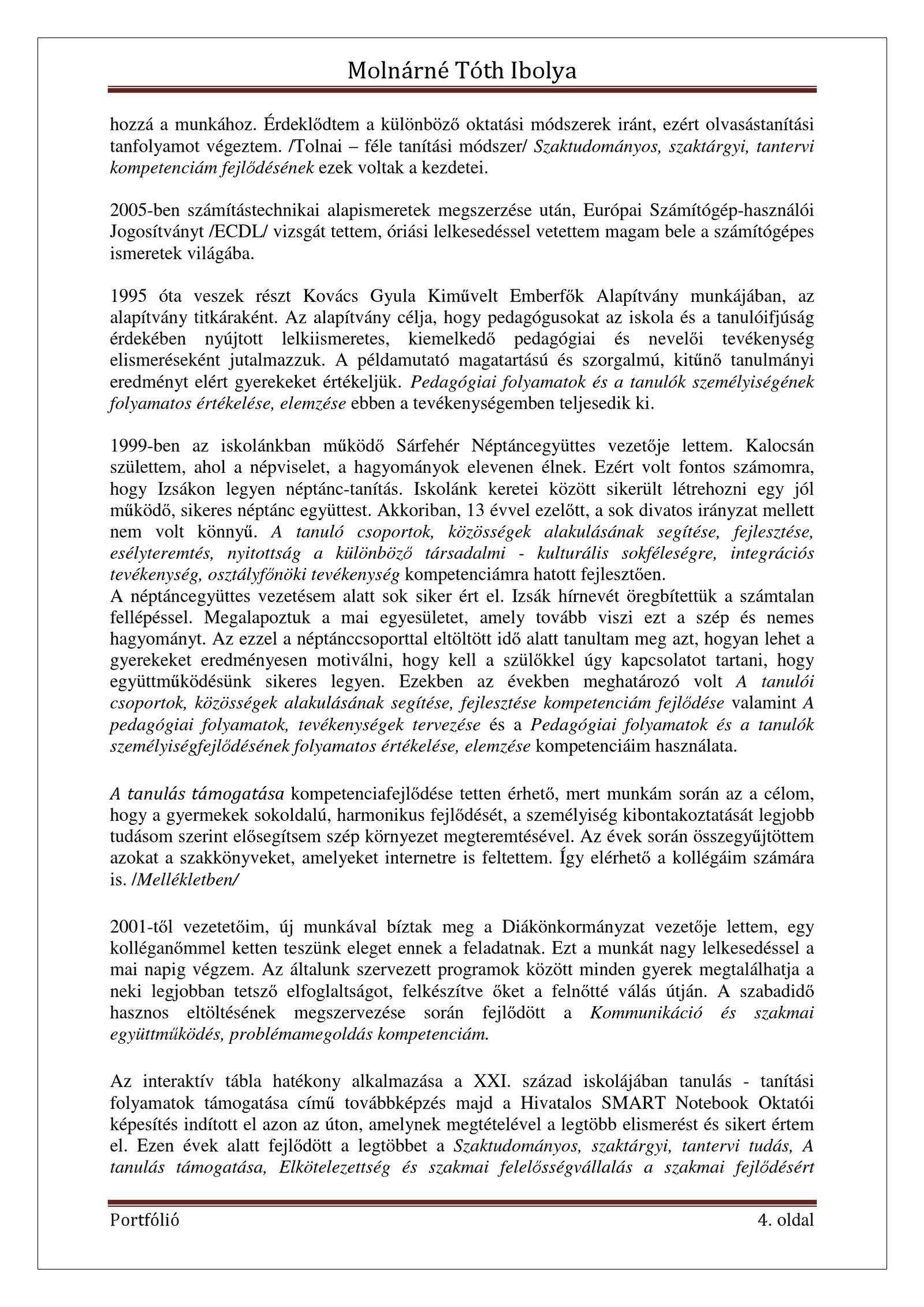 rák szakmai fejlődés)