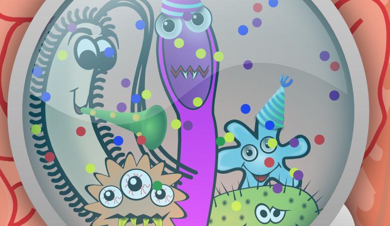 tápláló baktériumok