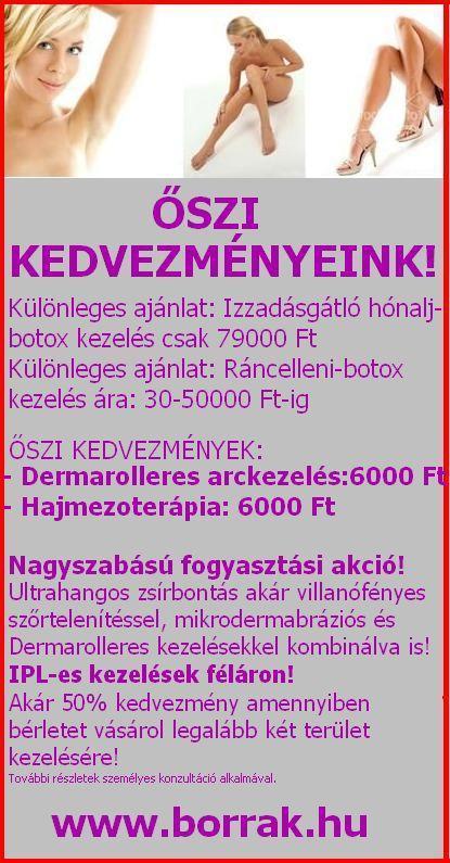 arckezelés kezelésére)