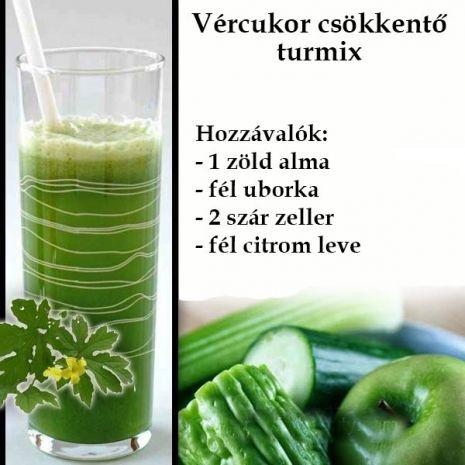 méregtelenítés zöld levekkel)