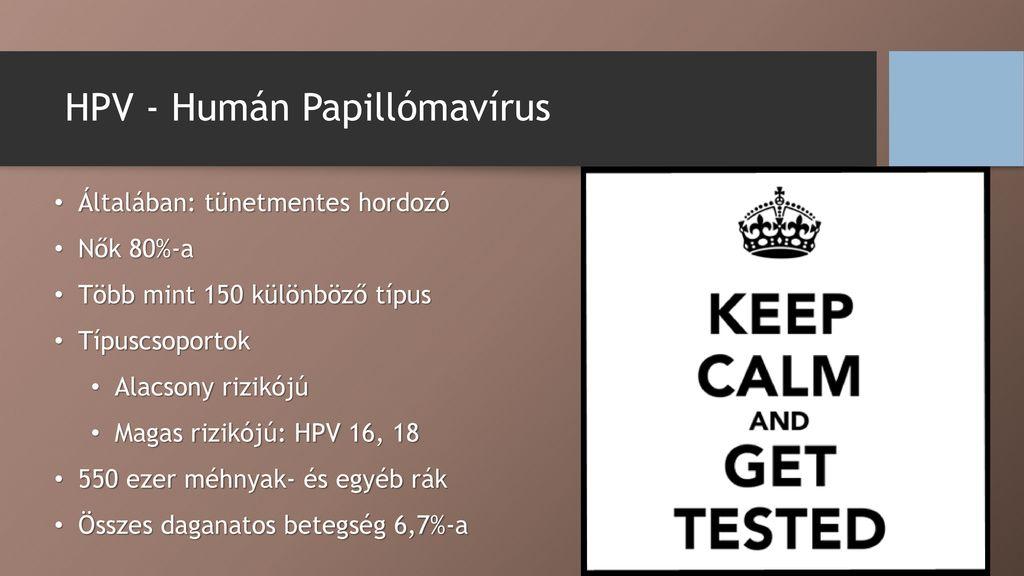 papilloma vírus ember meddősége