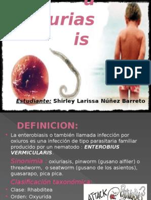 orvosi definíció oxyuriasis