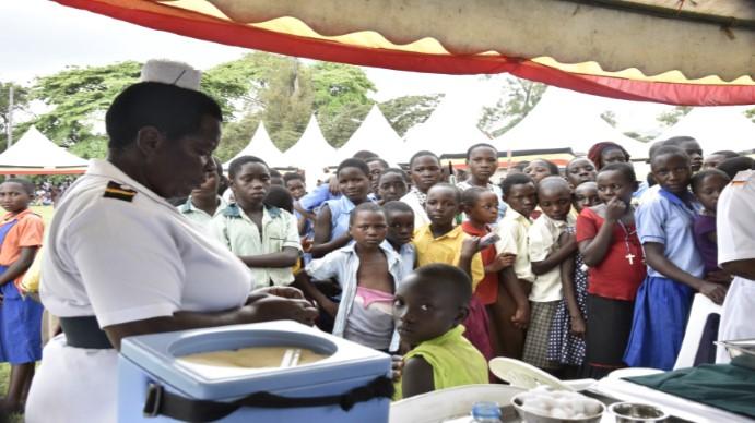 humán papillomavírus Ugandában)