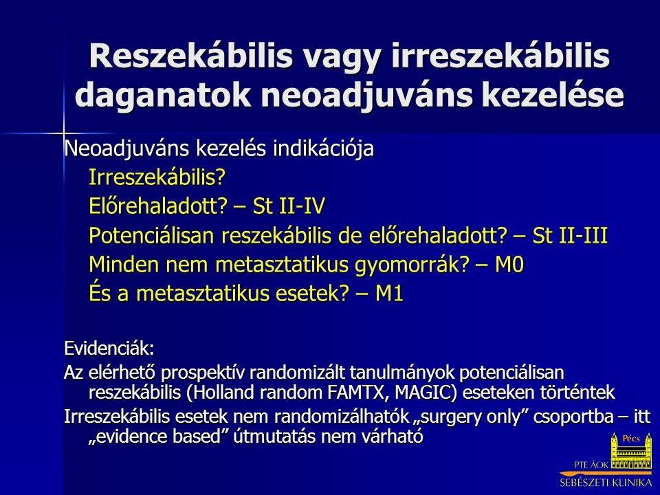 neoadjuváns gyomorrák)