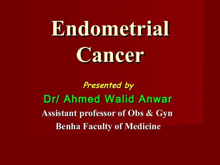 endometrium rák williams slideshare)