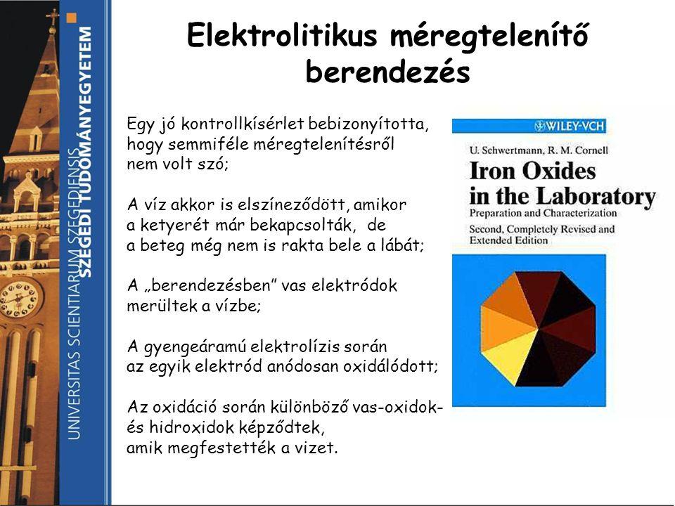 méregtelenítő elektrolízis